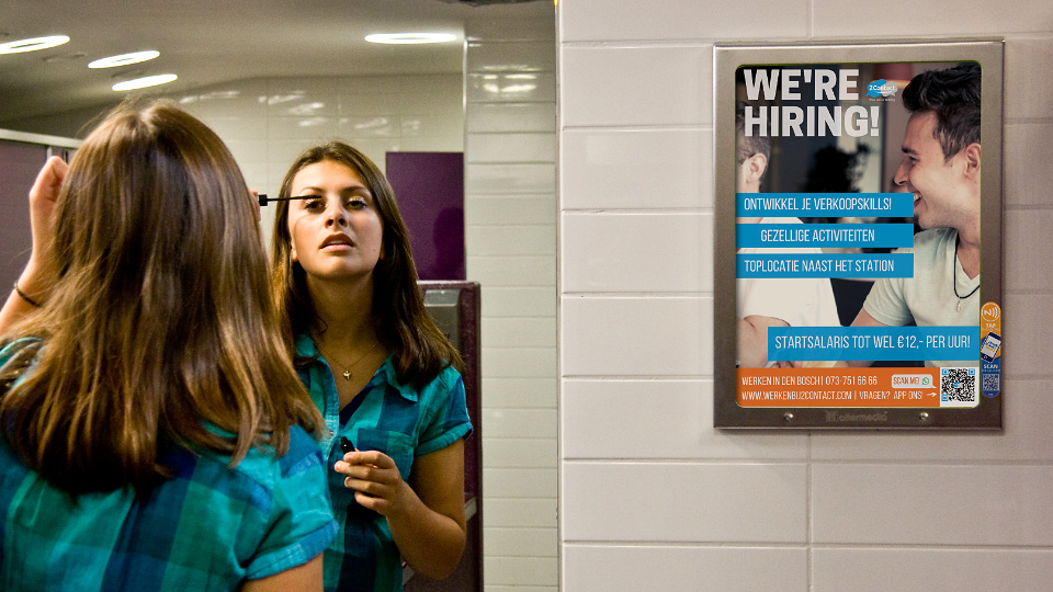 Altermedia 2contact Toiletreclame WCreclame Toiletmedia Washroommedia