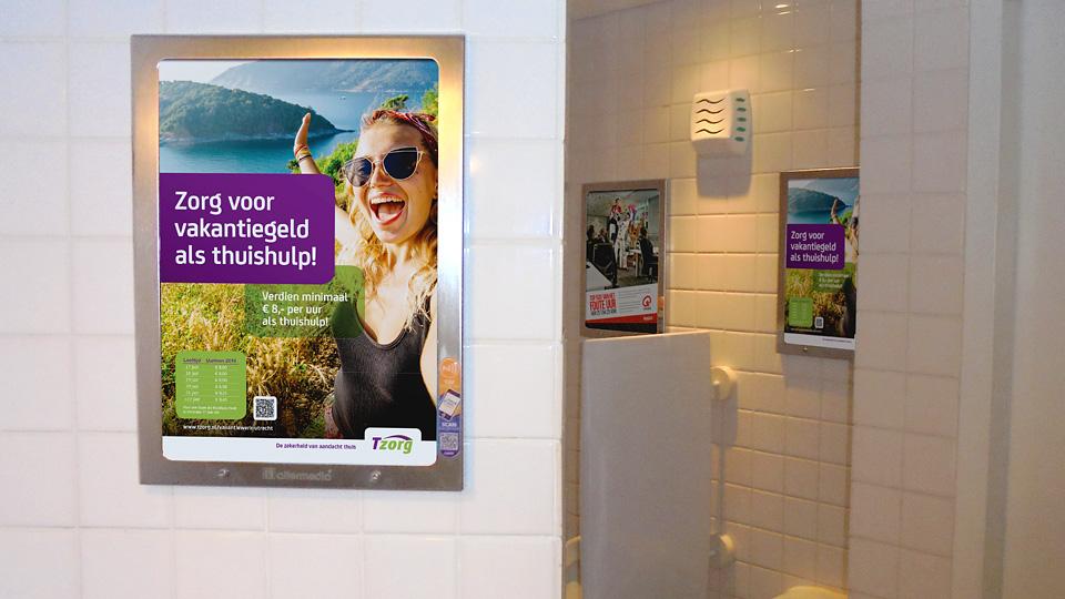 Altermedia CSU Tzorg Toiletreclame Wcreclame Toiletmedia Washroom media