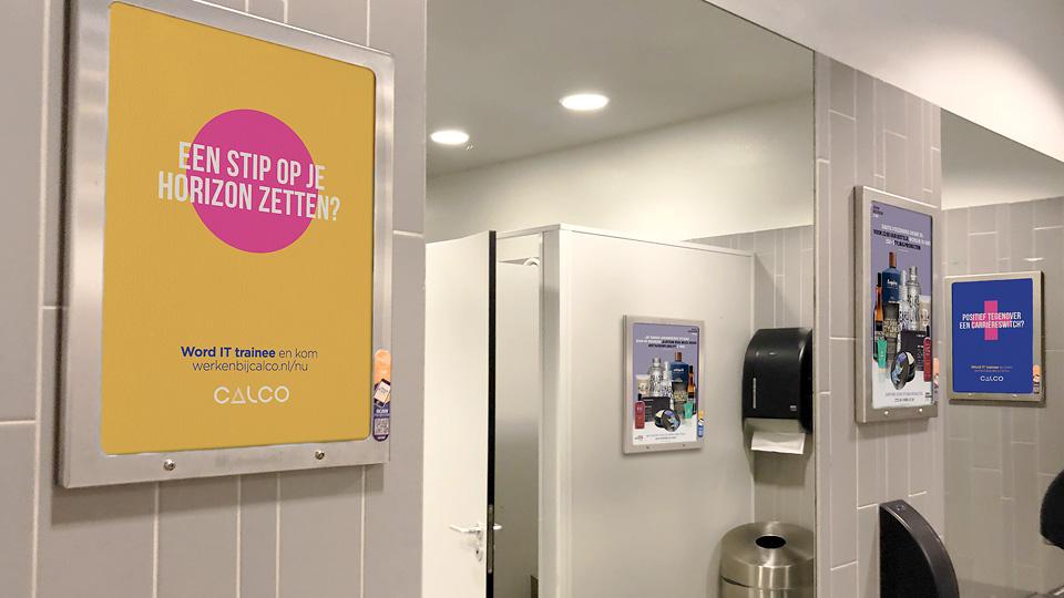 Altermedia Calco toiletreclame Wcreclame Toiletmedia Washroom media