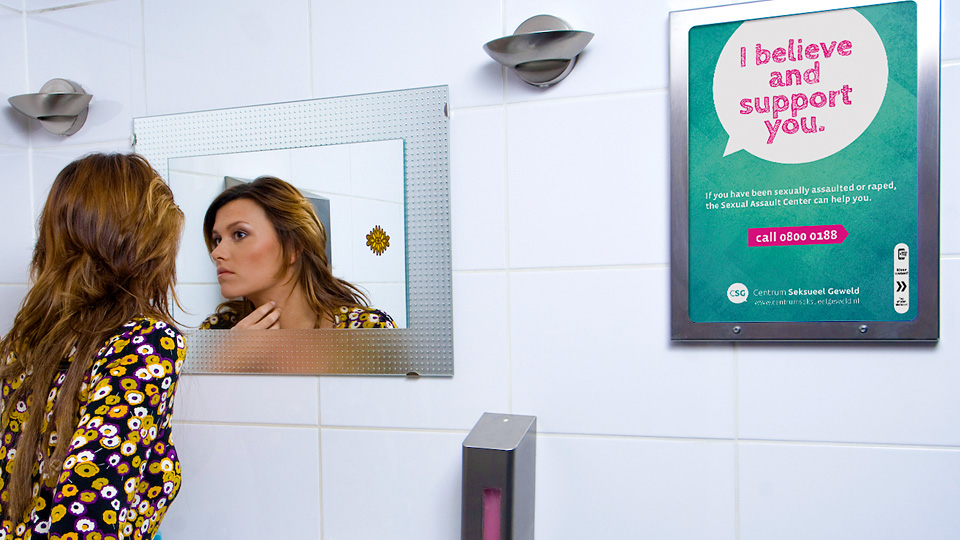 Altermedia Centrum Seksueel Geweld Wcreclame Toiletmedia Washroom media