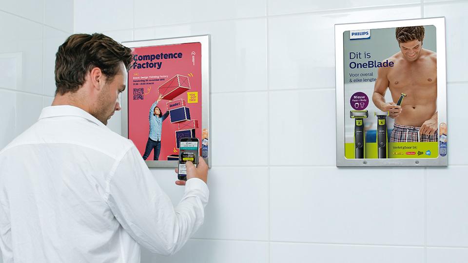 Altermedia Competence Factory Toiletreclame Wcreclame Toiletmedia Washroom media