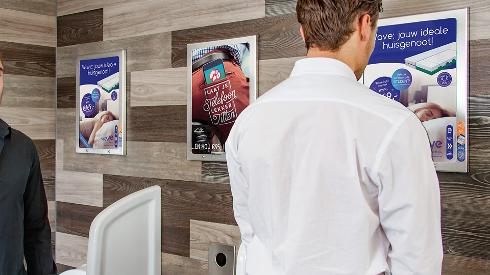 Altermedia Mline Toiletreclame Wcreclame Toiletmedia Washroom media