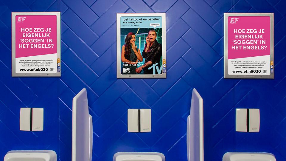 Altermedia  Education First Toiletreclame Wcreclame Toiletmedia Washroom media