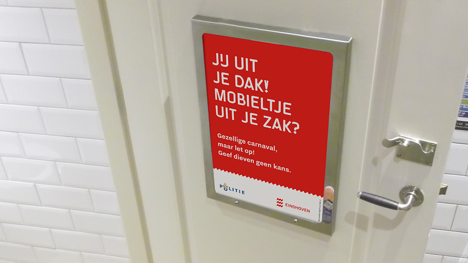 Altermedia Gemeente Eindhoven WCreclame toiletmedia Washroom media