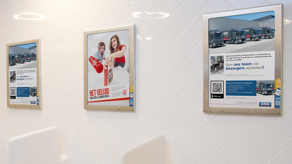 Altermedia De Mandemakers Groep Toiletreclame WCreclame Toiletmedia Washroom media