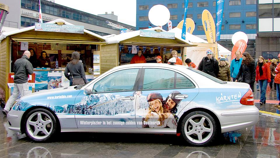 Altermedia Oostenrijks Toeristenburo Taxireclame