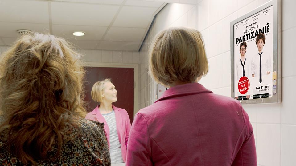 Altermedia Flint Theater Wcreclame Toiletmedia Washroom media
