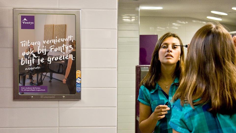 Altermedia Fontys Wcreclame Toiletmedia Washroom media