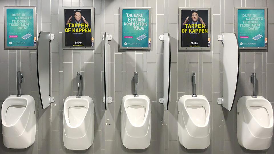 Altermedia GGD Amsterdam Centrum Seksueel Geweld WCreclame toiletmedia Washroom media