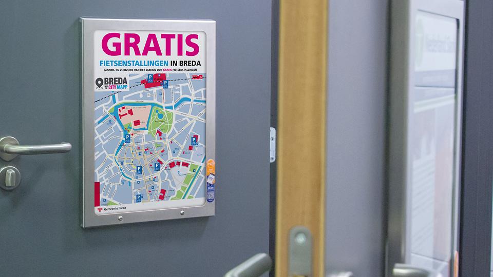 Altermedia Gemeente Breda WCreclame toiletmedia Washroom media