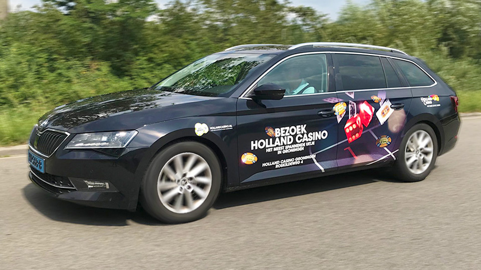 Altermedia Holland Casino Groningen Taxireclame