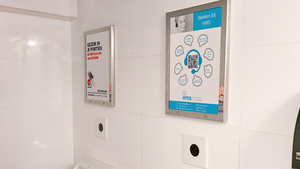 Altermedia HMS Contact Centers WCreclame Toiletmedia Washroom media