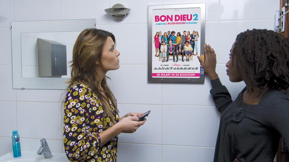 Altermedia Independent Films Nederland Toiletreclame WCreclame Toiletmedia Washroom media