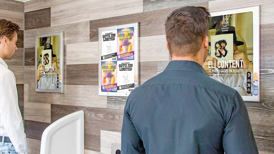 Altermedia Joods Historisch Museum Toiletreclame WCreclame Toiletmedia Washroom media