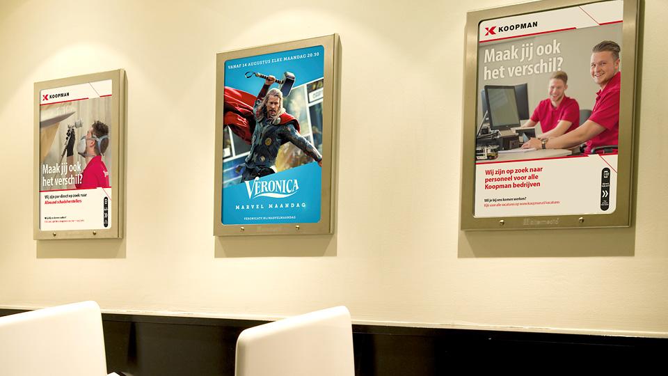 Altermedia Koopman Logistics Group Toiletreclame WCreclame Toiletmedia Washroom media
