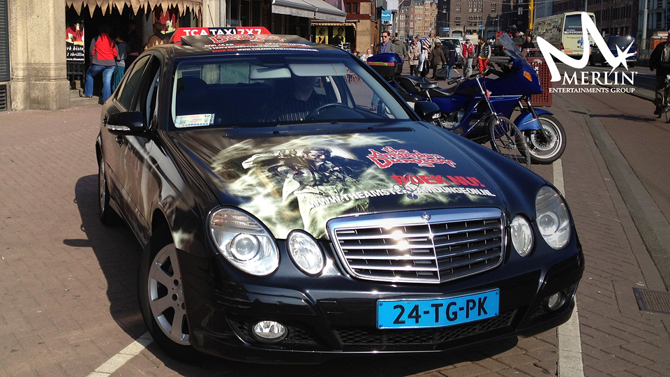 Altermedia Merlin Entertainments The Amsterdam Dungeon Taxireclame