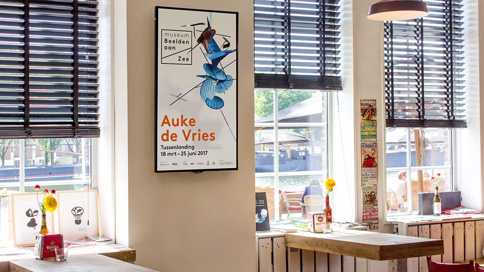 Altermedia Museum Beelden aan Zee woW Screens Art Screens Digital Signage